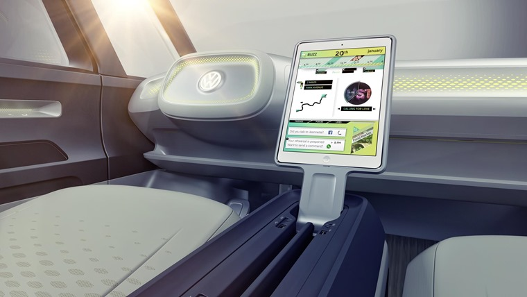 VW ID Buzz Cargo concept interior