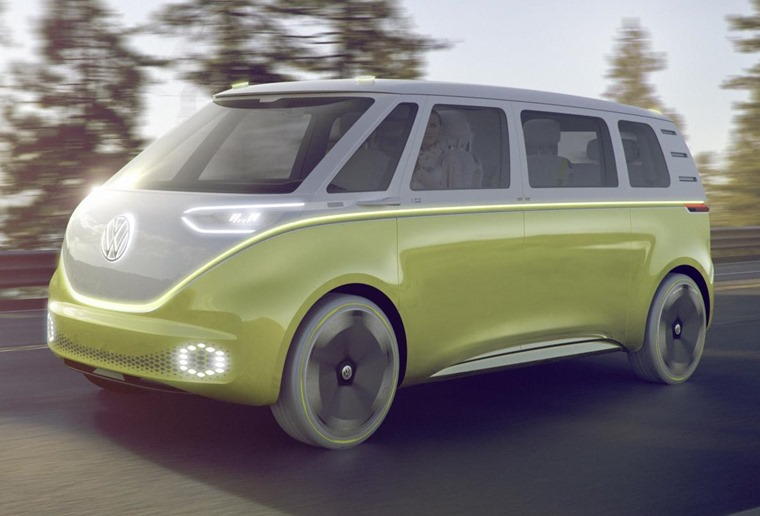 VW ID Buzz Cargo concept is the commercial version.