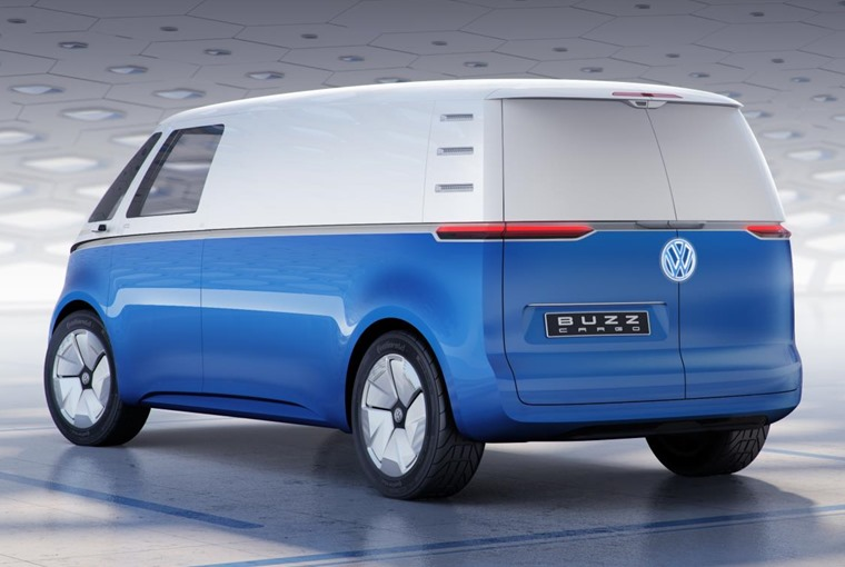 VW ID Buzz Cargo concept rear
