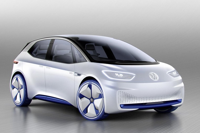 The I.D. hatch was the first model to join Volkswagen's EV offensive.