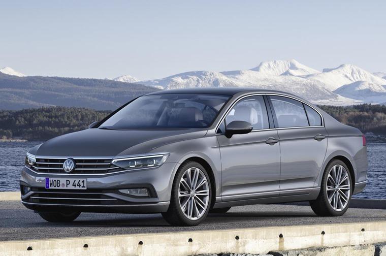VW Passat 2019 update front