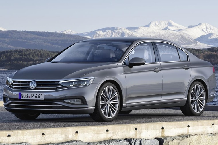 VW Passat 2019 update front