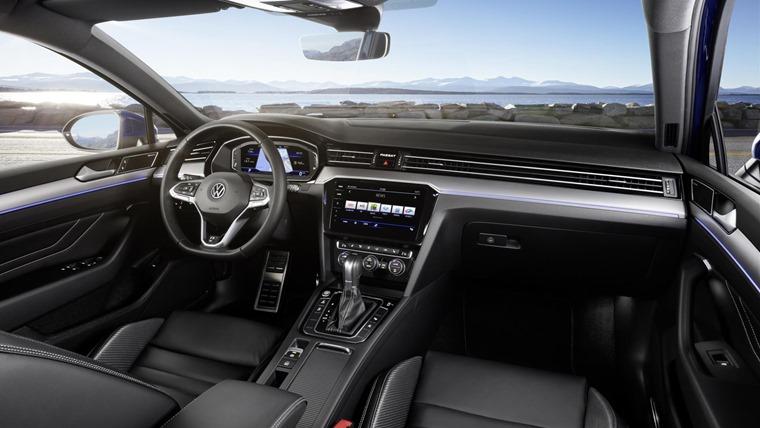 VW Passat 2019 update interior