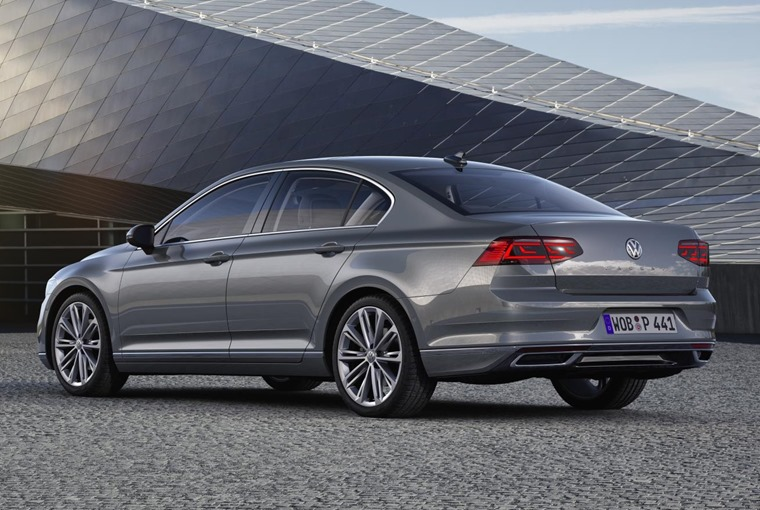 VW Passat 2019 update rear