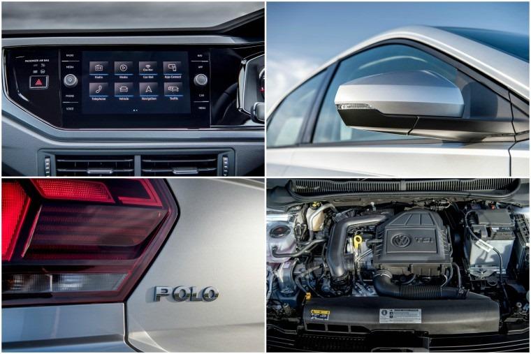 VW Polo collage