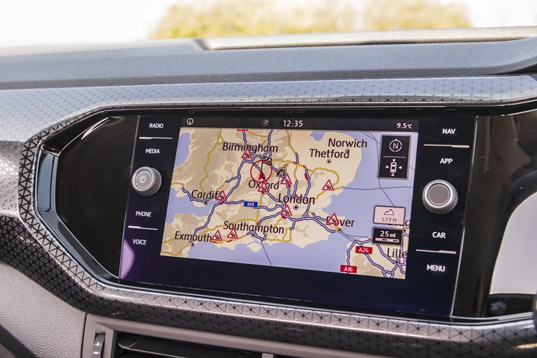 VW T-Cross satnav