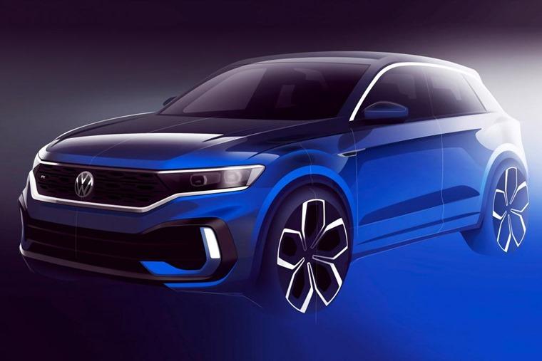 VW T-Roc R sketch