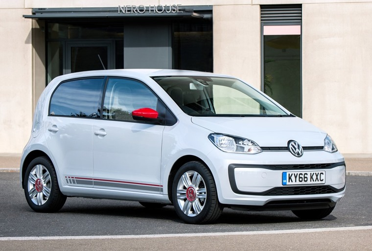 Volkswagen Up for under £150 a month.
