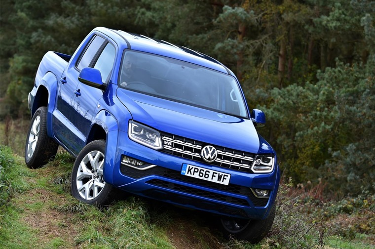Volkswagen Amarok off-road