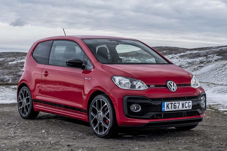 Many people scoffed when Volkswagen marketed the new Up GTI as the natural heir to the original Golf GTI