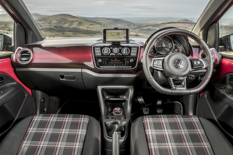 VW Up GTI interior