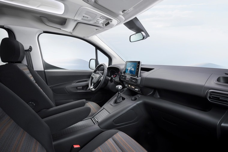 2018 Vauxhall Combo Life interior