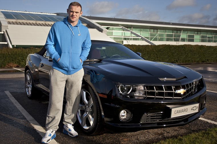 Top Five Footballers Cars