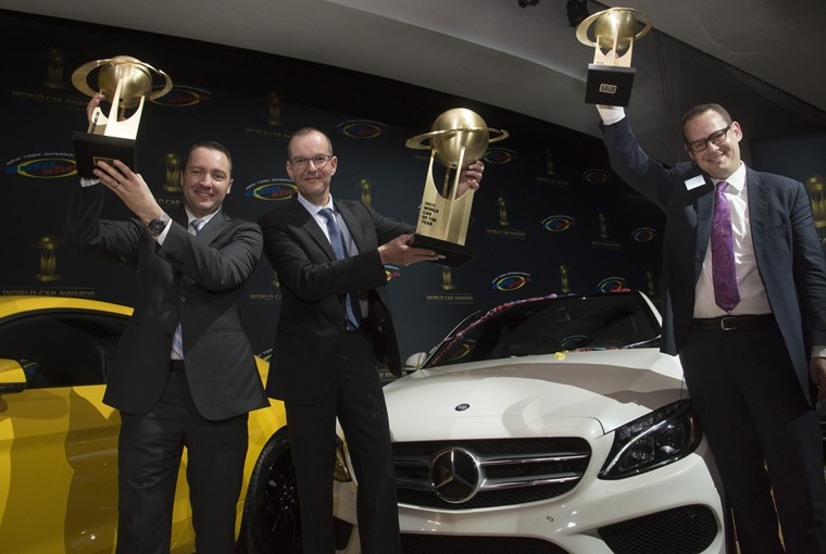 Mercedes-Benz claimed three of the five prizes up for grabs at this year's World Car Awards (WCA).