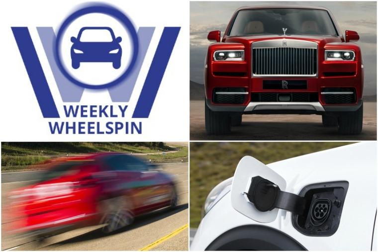 Weekly Wheelspin 11 May 2018