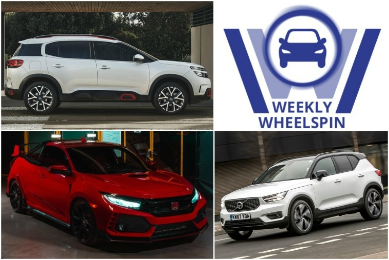 Weekly Wheelspin 25 May 2018