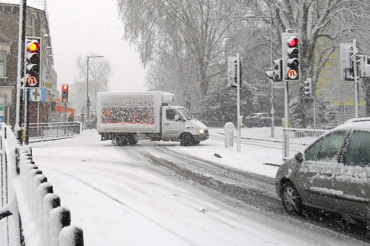 Things really turn nasty when snow starts falling, but some journeys just can't be avoided.