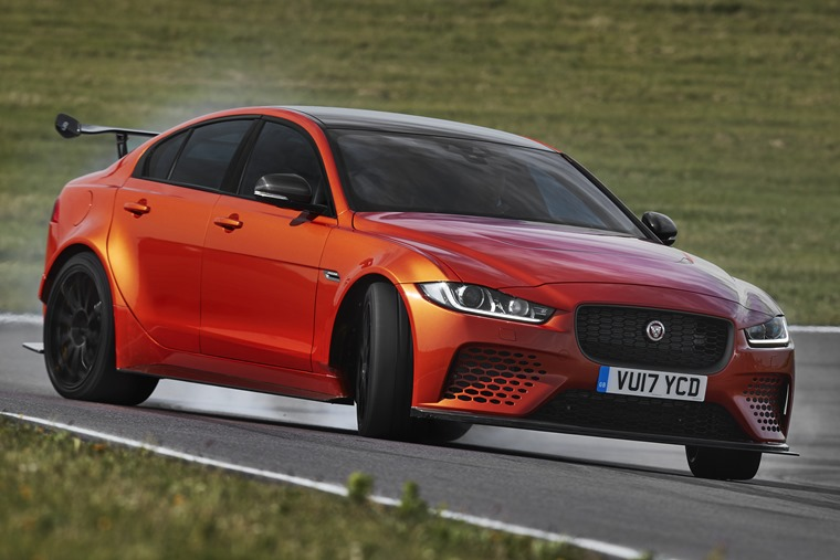 No, the XJ220 isn't the fastest Jaguar ever, this is – the XE Project 8.