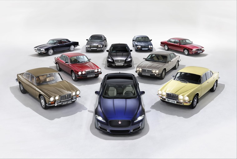 Jaguar's XJ through the years...
