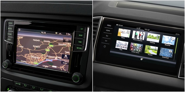 Equipment such as the improved infotainment is lightyears ahead in the Karoq, but you could be surprised how little one could cost if you lease...