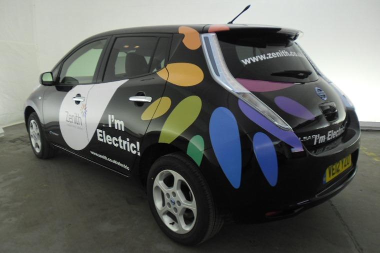 Zenith branded Nissan Leaf