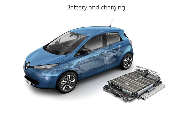 Renault Zoe battery pack